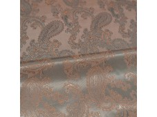 Paisley Jacquard Lining Cedar and Gingerbread