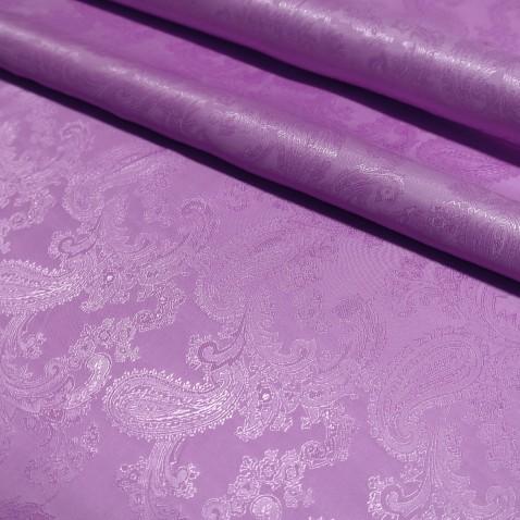 Paisley Jacquard Lining Lilac