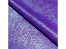 Paisley Jacquard Lining Purple and Pink