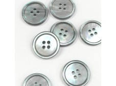 MOP Suit Buttons U723 Smokey Black